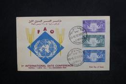 LIBYE - Enveloppe FDC Du F.A.O. En 1959 - L 24200 - Libyen