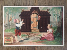 CHROMO CHOCOLAT SUCHARD S27 1892 Hansel Gretel Maison Sorcière - Suchard
