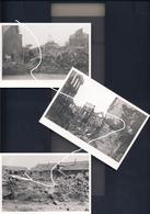 JL 1 Mai 1940 Beaumont Destructions Diverses Et Chars Français B1bis Détruits 2e Guerre Repros - 1939-45