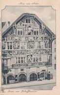 CARTOLINA - POSTCARD - SVIZZERA - GRUSS Aus SCHAFFHAUSEN - SH Schaffhouse