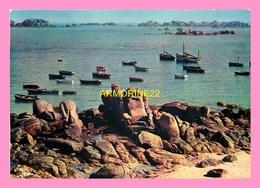 CPM KERLOUAN  Le Port Et Les Digues - Kerlouan