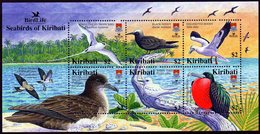 Kiribati - Birdpex, Oiseaux Tropicaux - Feuillet 6 Val Neufs // Mnh - Kiribati (1979-...)