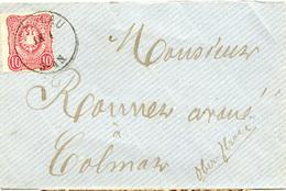 (Lo3102) Brief DR St. Breslau N. Colmar 1875 - Allemagne