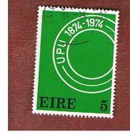 IRLANDA (IRELAND) -  SG 365  -    1974 U..P.U. CENTENARY   -     USED - 1949-... Repubblica D'Irlanda