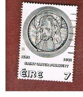 IRLANDA (IRELAND) -  SG 382  -    1975  O. PLUNKETT CANONIZATION -     USED - 1949-... Repubblica D'Irlanda