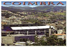 Portugal, COIMBRA, Estádio Cidade De Coimbra (1980s) Stadium Postcard - Soccer