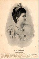S.M. Helene, Reine D'italie - Familles Royales