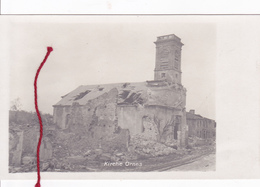 (55 ) - Ornes Kirche Carte Photo Allemande - France
