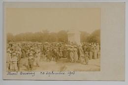 MONT BEUVRAY 1903 PHOTO Carte MORVAN Château Chinon Lormes Fours Nevers Nièvre Dijon Auxerre Saulieu Chalon Sur Saône .. - Autres Communes