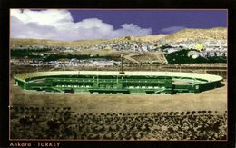 Turkey, ANKARA, Eryaman Stadyumu M.K.E. Ankaragücü (1999) Stadium Postcard - Soccer