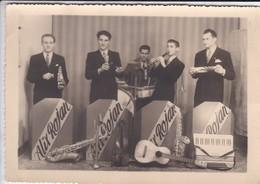 PHOTO---ORCHESTRE-JAZZ ?--ALIX ROJAN---groupe De Musiciens--voir 2 Scans - Photos