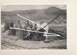 JL 1 Mai 1940 Charleroi Flak Luftwaffe Canon Sur Terril Repro - 1939-45