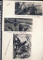 JL 1 Mai 1940 Namur Forts De La PFN + Char Bison Dans L'Entre Sambre Et Meuse Repros - 1939-45