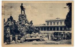PARMA - MONUMENTO A BOTTEGO E STAZIONE FERROVIARIA - 1948 - Vedi Retro - Formato Piccolo - Parma