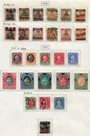 11615  DANTZIG  Collection Vendue Par Page  N° 38/43, 47/59, 72 */ °  1920-21  TB - Danzig