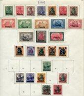 11614  DANTZIG  Collection Vendue Par Page  N° 1/15, 16/20, */ °  1920  TB - Danzig