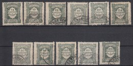 PORTUGAL - Michel - 1922 - SELECTIE 2 (STRAFPORT) - Gest/Obl/Us+MH* - Impuestos