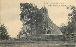 - Yvelines -ref-B719- Saint Lambert - St Lambert - Vallée De Chevreuse - L Eglise - Carte Bon Etat - - France
