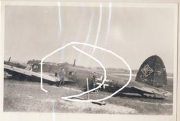 JL 1 10 Mai 1940 Luftwaffe Avion Aviation Bombardier He 111 Posé Près De Beaumont. Repro - 1939-45