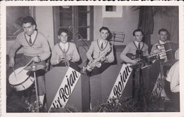 PHOTO--ORCHESTRE-JAZZ ?--ALIX ROJAN---groupe De Musiciens--voir 2 Scans - Photos