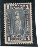 CANADA(Ontario)1929:Revenue $1 - Fiscale Zegels