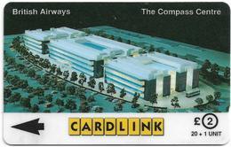 UK (Cardlink) - British Airways Compass Centre, 7CLKA, 10.000ex, Used - Ver. Königreich