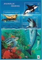 Feuillet N° 48 De La Série Nature De France. Faune Marine - Neufs