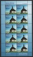 Bosnia & Herzeg. - BH (2018)  - MS -   /  Joint Issue With Turkey - Houses - Casas - Maisons - Architecture - Gezamelijke Uitgaven
