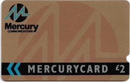 UK (Mercury) - Corporate Bronze, 6MERB-MER004B, 1988, Used - Reino Unido