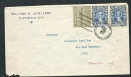 LSC DE GUATEMALA CITY Affranchie Pour La France Et Oblitéré Le 14/sept 1928 -  Bb16214 - Guatemala