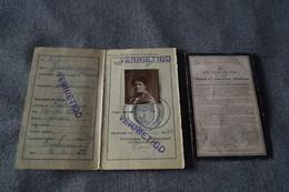 Cortenberg,avis Mortuaire Avec Carte D'identité,Mme Vanderseypen Maria,superbe Lot - Décès