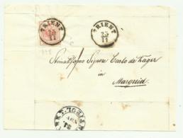FRANCOBOLLO DA 3 KREUZER TRIENT  SU FRONTESPIZIO - 1850-1918 Imperium