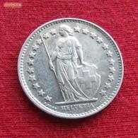 Switzerland 1/2 Franc 1945 KM# 23 Silver Suiça Suisse Svizzera Schweiz Suiza - Switzerland