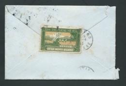 Vignette - Genève Et Le Mont Blanc ( Oblit Cad 'arrivée Poitiers , Lsc  Cad Bureau Distribution Messery (74)  -  Bb16211 - Commemorative Labels