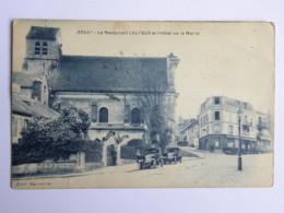CPA (91) Essonne  - ORSAY - Le Restaurant Lautour Et L'hôtel De La Mairie - Orsay
