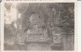 Cambodge : BANTEAY-SREI : Les Sculptures : 1948 ( Format : 8,7cm X 6,2cm ) - Places