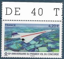 PA 83 50e Anniversaire Du Premier Vol Du Concorde (2019) Neuf** - 1960-.... Neufs