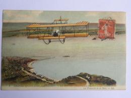 CPA (76) Seine Maritime - Grande Quinzaine D'aviation - Le Havre - Trouville - Deauville - Avions
