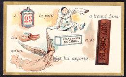 CHROMO Chocolat SUCHARD   +/- 1895  Serie 45   Rébus   Trade Card - Suchard