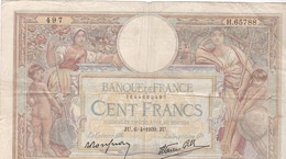 FRANCE 100 FRANCS MERSON  06/04/1939 - 100 F 1908-1939 ''Luc Olivier Merson''