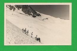 Alpini Manovre Sul Ghiacciaio Con Accoppiatori X Sci Soldiers - Guerra, Militari