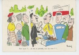 "HUMOUR - PECHE - Jolie Carte Fantaisie ""GRAND CONCOURS DE PECHE - JURY "" Signée PADRY - Humour"