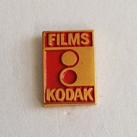 PHOTOGRAPHY KODAK PICTURE,  PHOTO EQUIPMENT MATHERIAL, FILM PIN BADGE BROCHE INSIGNE DISTINTIVO - Fotografia