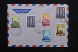 RUANDA URUNDI - Enveloppe FDC 1961 , Cathédrale De Usumbura - L 24241 - 1948-61: Storia Postale