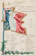 MON ETENDARD 3 EME REGIMENT DE HUSSARDS D ESTERHAZY 1764 - Guerra 1914-18