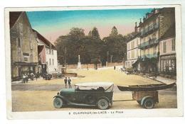 CLAIRVAUX - La Place  - Bon état - Clairvaux Les Lacs