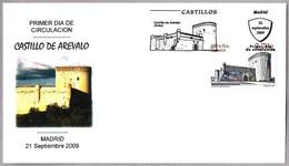 CASTILLO DE AREVALO (Avila) - Castle Of Arevalo. SPD/FDC Madrid 2009 - Castillos