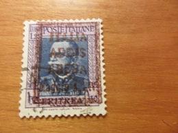 Italia COLONIE E POSSEDIMENTI   ERITREA ADDISABEBA  Lire 1,25 - Eritrea