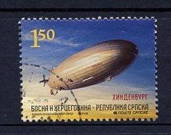 Bosnie Herzégovine Adm Serbe - Bosnia - Bosnien 2012 Y&T N°521 - Michel N°555 (o) - 1,50m Dirigeable - Bosnië En Herzegovina