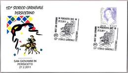 137º CARNAVAL HISTORICO PERSICETANO. San Giovanni In Persiceto, Bologna, 2011 - Carnavales